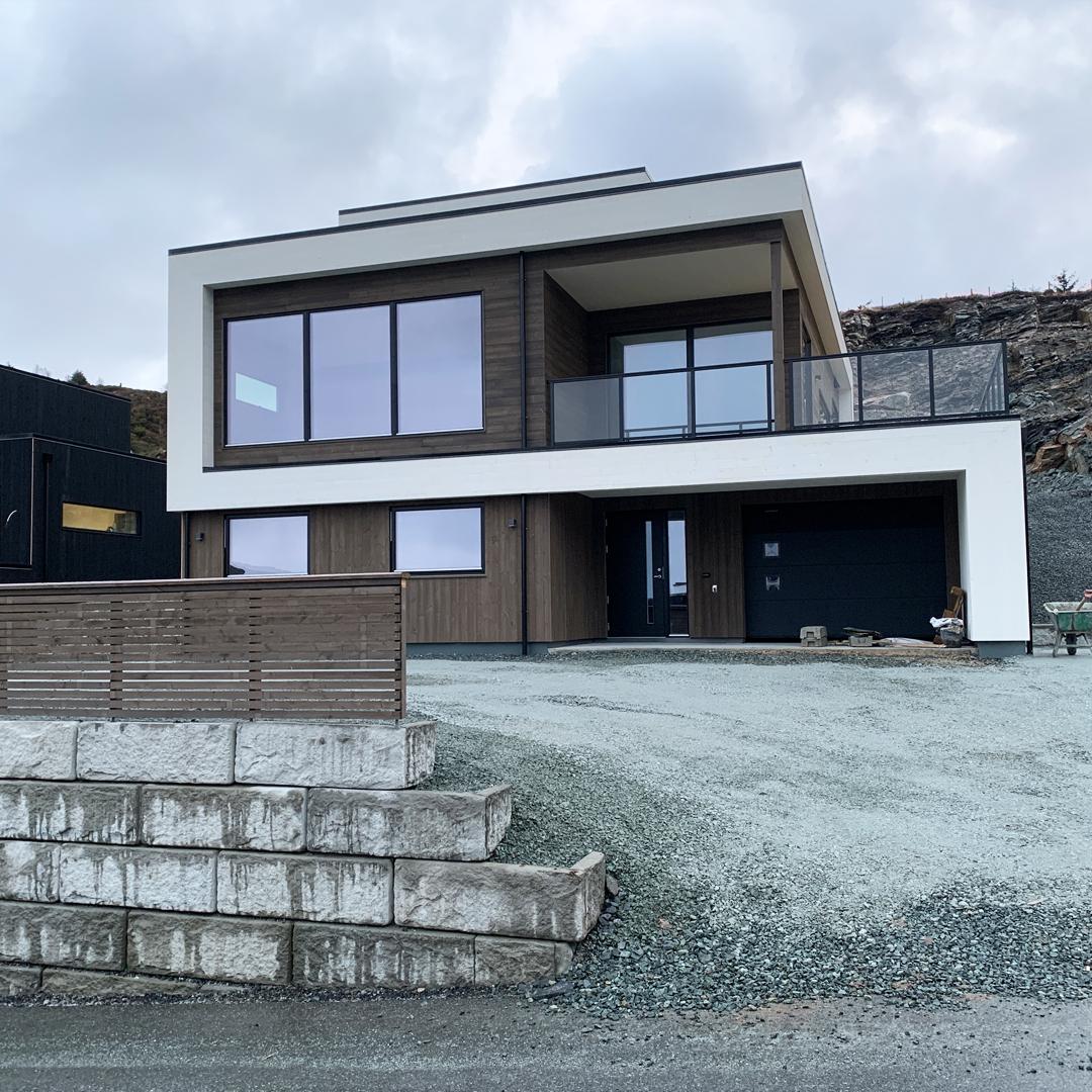 villa jentoft bygge hus i haugesund