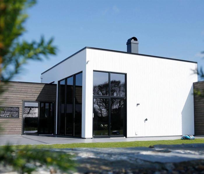 villa ferkingstad moderne hus karmøy
