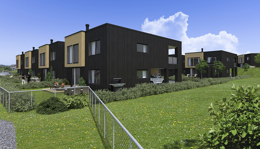 moderne hus stivlevågen karmøy