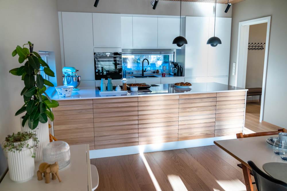 moderne kjøkken villa risvik