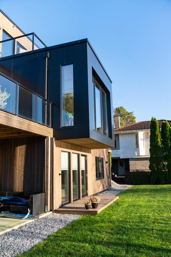 moderne detaljer nytt hus karmøy