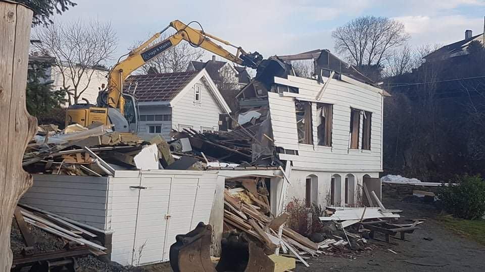 rive og bygge nytt haugesund byggefirma