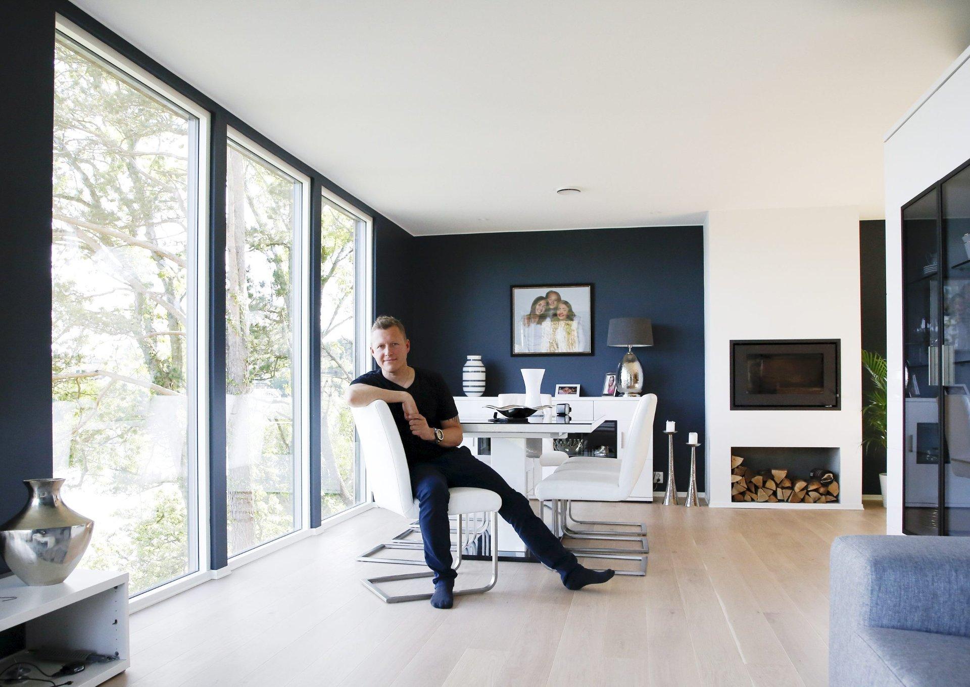 moderne hus villa garvik