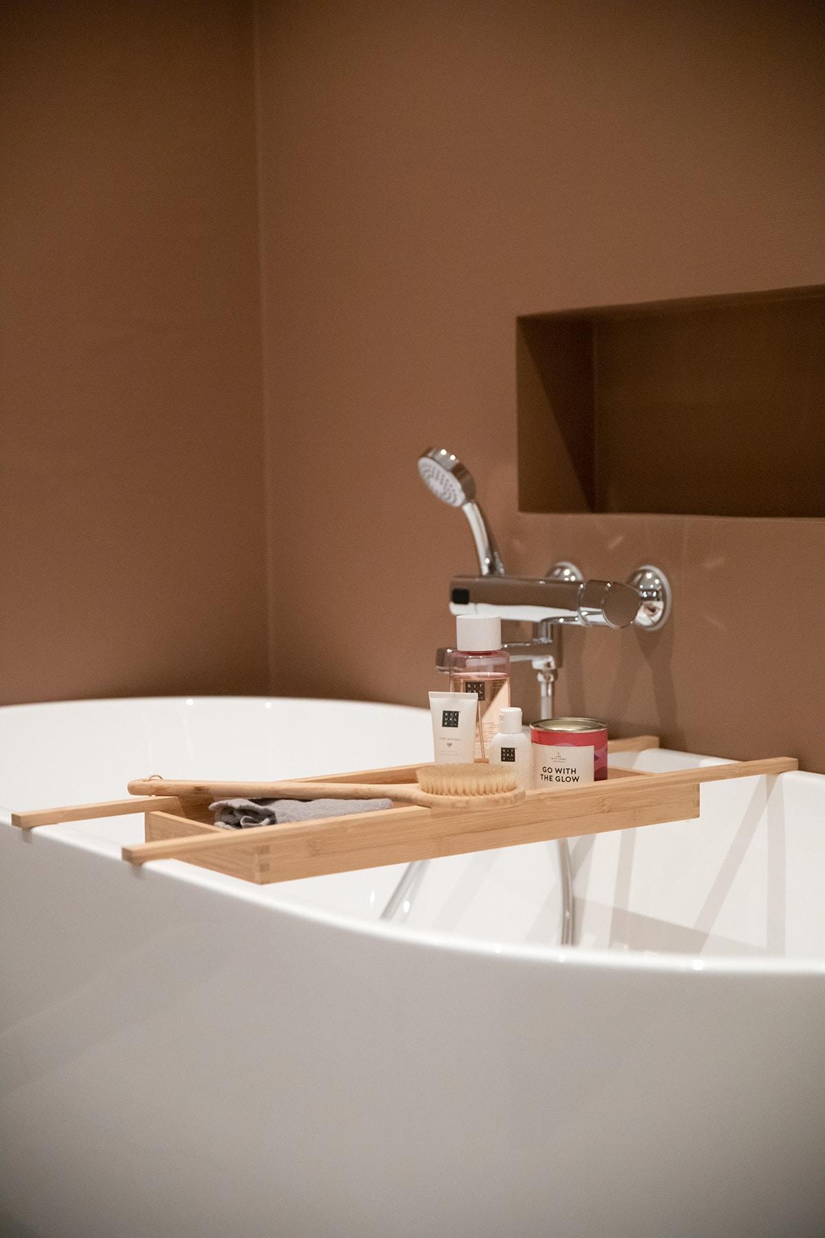 Hovedbad med flotter interiør detaljer - Villa jentoft i Haugesund
