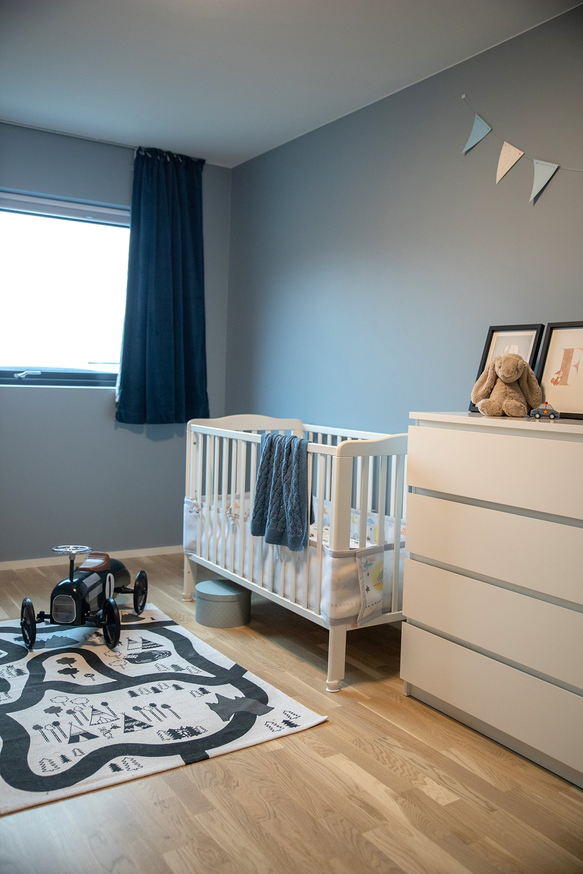 Barnerom med moderne fargekombinasjoner - Villa jentoft i Haugesund