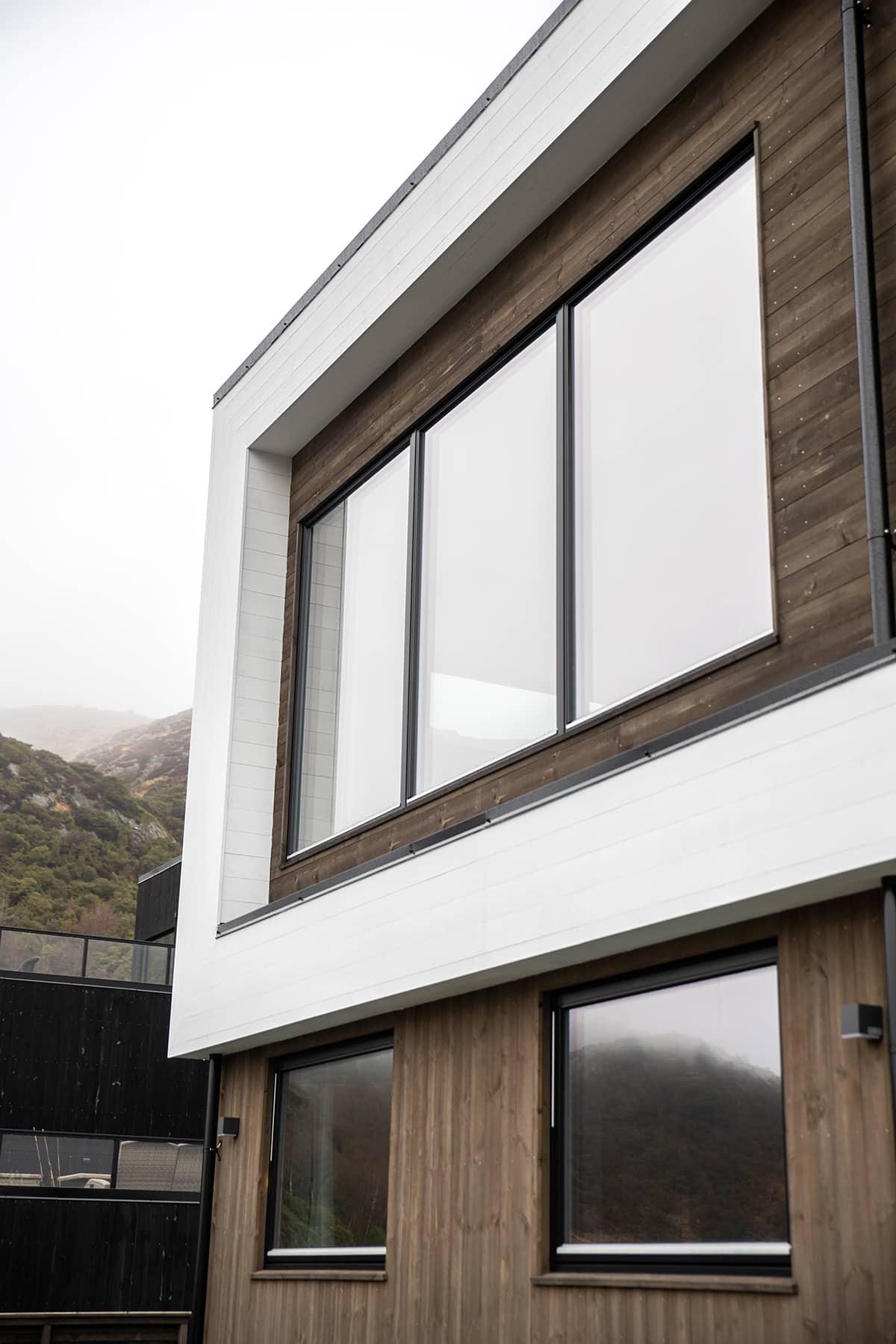 Villa Jentoft - Funkishus i Haugesund med moderne detaljer